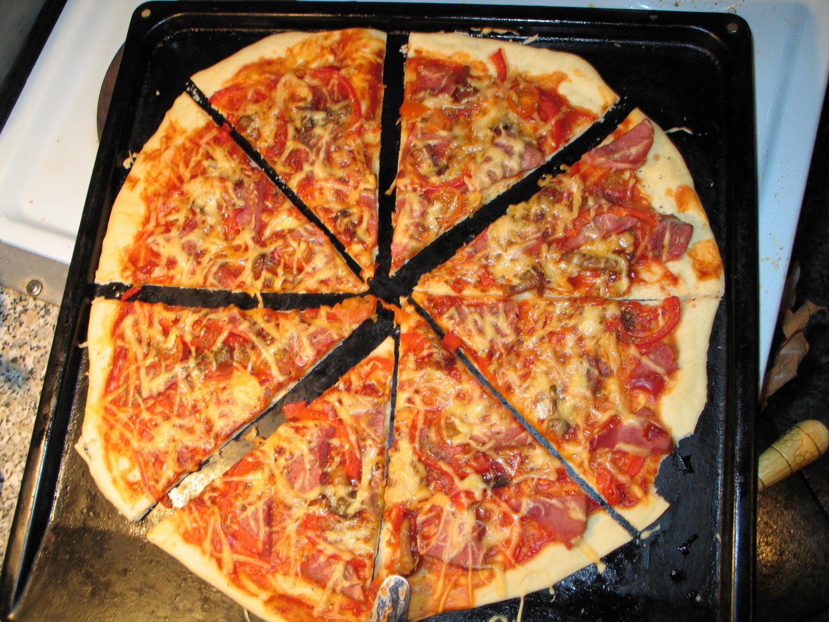 фото пиццы дома